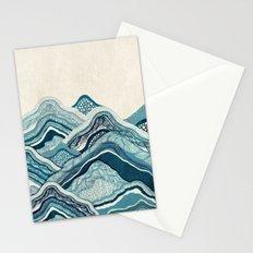 Blue Hike  Stationery Cards