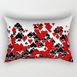 Poker Star Rectangular Pillow