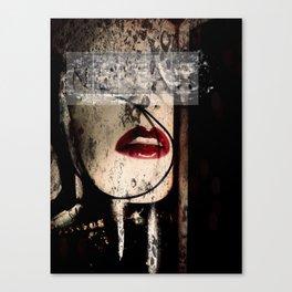 Bleeding Artisan Canvas Print