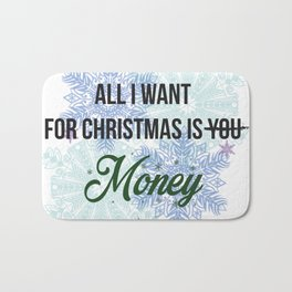 all i want for x-mas is... Bath Mat