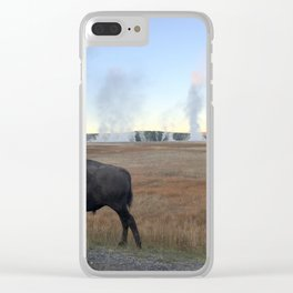 Bison Springs Clear iPhone Case