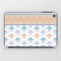pee wee iPad Cases featuring Tee-Pee by According to Panda