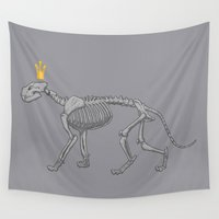 lion king Wall Tapestries featuring lion king by ErDavid