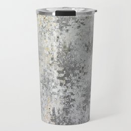 Abstract gray Travel Mug
