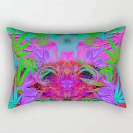 Devil's Death Weed Rectangular Pillow