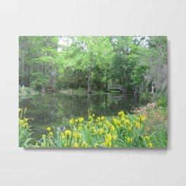 A Spring View Metal Print