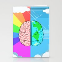 technology Stationery Cards featuring Technology minded by JW's art