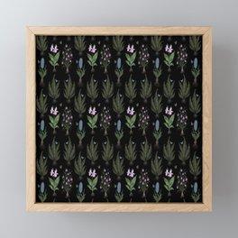 Botanical Woodland Bulbs  Framed Mini Art Print