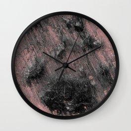 Remains of a Meditating Monk Wall Clock