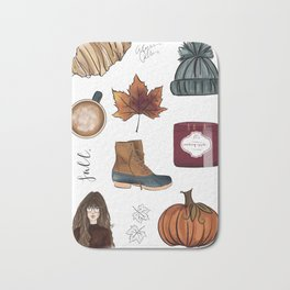Fall Feelings Bath Mat