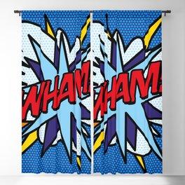 Comic Book WHAM! Blackout Curtain