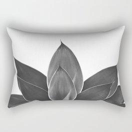 Black Agave #1 #tropical #decor #art #society6 Rectangular Pillow