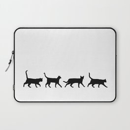 Kitty Conga Line Laptop Sleeve