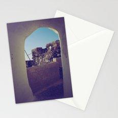 Santorini Walkway IV Stationery Cards