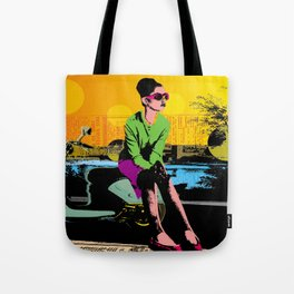 Waiting for marcello Tote Bag