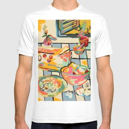 BREAD AND PASTA LOVE  T-shirt