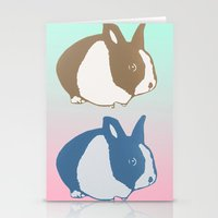 floyd Stationery Cards featuring Floyd by Tooter