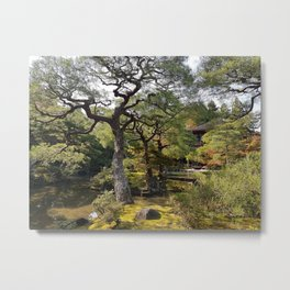 Peaceful garden I Metal Print