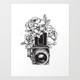 Has n Roses Art Print