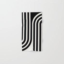 Minimal Line Curvature III Hand & Bath Towel