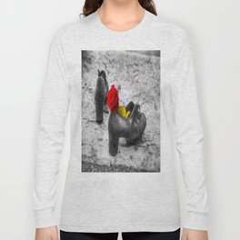 Shoes On The Danube Bank Long Sleeve T-shirt