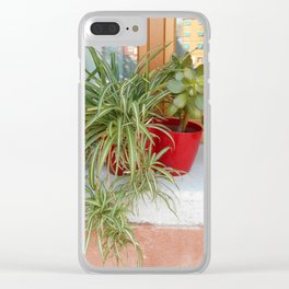 House Plants in Burano Clear iPhone Case