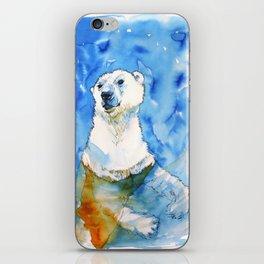 Polar Bear Inside Water iPhone Skin