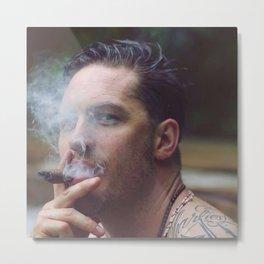 Tom smoke Metal Print