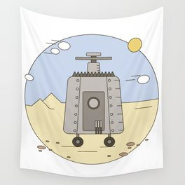 Pepelats. Russian science fiction. Wall Tapestry