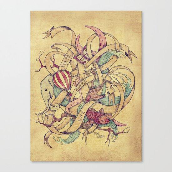 Abstract Nature | VACANCY zine | Canvas Print