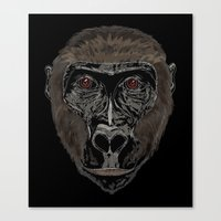 ape Canvas Prints featuring Ape by Mel McIvor