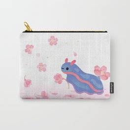Cherry blossom slug Carry-All Pouch