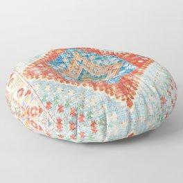 Heritage Multicolore Rug  Floor Pillow