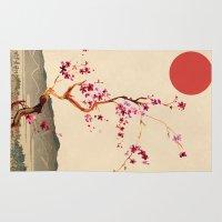 sakura Area & Throw Rugs featuring Sakura by Ned & Ems