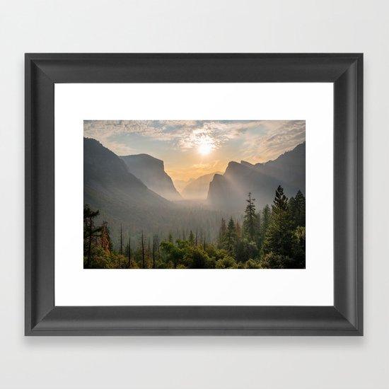 Morning Yosemite Landscape by kaelabears