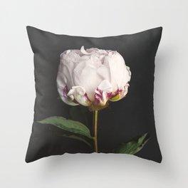 Lone Flower Throw Pillow