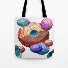 Hyperspace Abstract Mystery Stones 1 Tote Bag