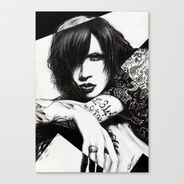 TZK Canvas Print