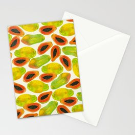 Plentiful Papaya Stationery Cards