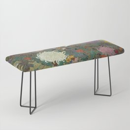 flower【Japanese painting】 Bench