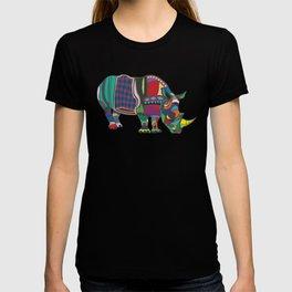 Abstract Rhino T-shirt