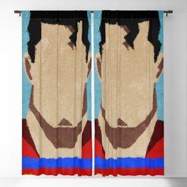 superman paint Blackout Curtain