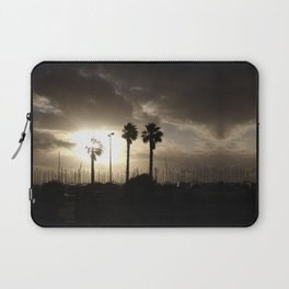 Palm trees & boats Laptop Sleeve
