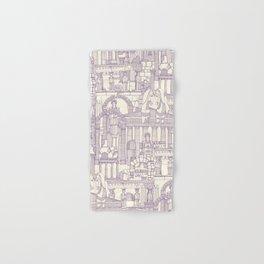 Ancient Greece purple pearl Hand & Bath Towel