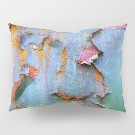 Peeling paint and rust textures 135 Pillow Sham