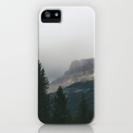 Above the Tree Line pt2 iPhone Case