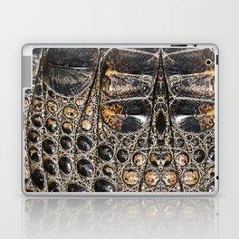 American alligator Leather Print Laptop & iPad Skin