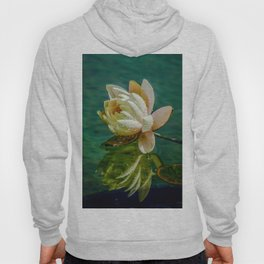 Water Lily after rain Hoody