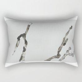 DETERIORATION OF A TWIG Rectangular Pillow