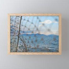 An Bang Netting Framed Mini Art Print